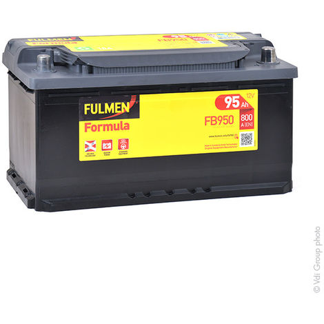 Fulmen - Batería para coche FULMEN Formula FB950 12V 95Ah 800A
