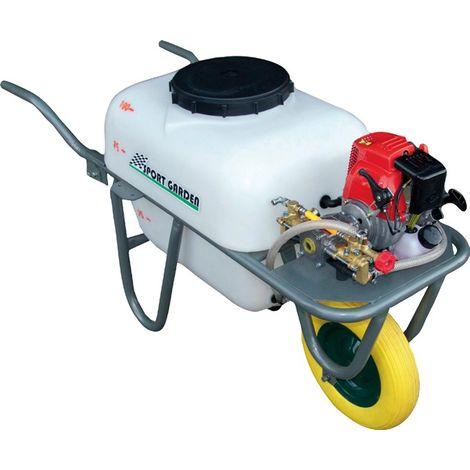 Fumigadora gasolina 1 Rueda 4 Tiempos 2,5HP 100L 20Bar
