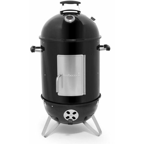 fumoir à charbon 39cm noir - 223.9839.000 - barbecook