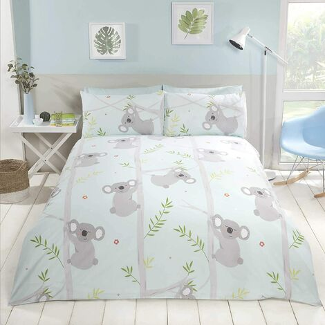 Fun Koala, Duvet Set, Multi, Size: King-230cm x 220cm