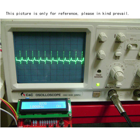 Funcion del generador de senal del DDS del modulo DIY Kit, Sine plaza de diente de sierra de onda triangular