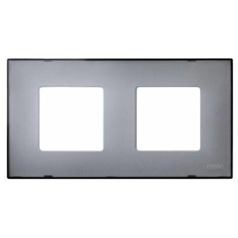 Funda color 2 elementos gris translucido Simon 27 Play 2700627-112