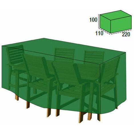 Funda Cubre Mesa / Conjunto 100x110x220 cm.