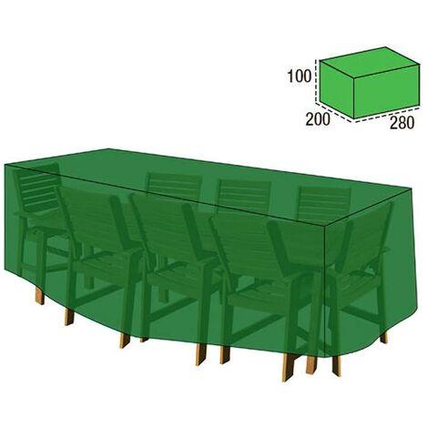 funda cubre mesa / conjunto 100x200x280cm