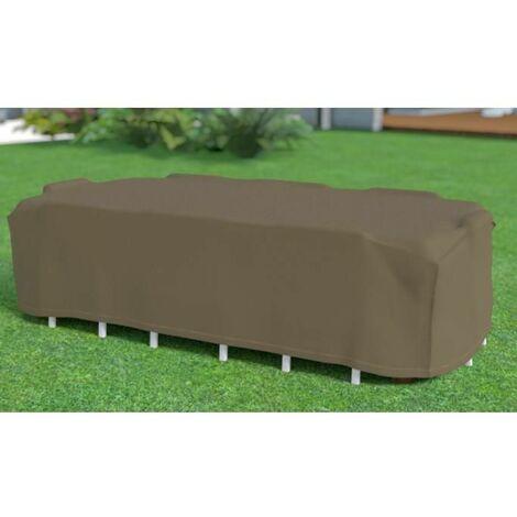 Funda Cubre Mesa Rectangular + 8 sillas /Nortene