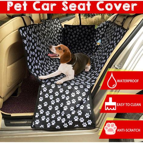 Funda de asiento de coche para mascotas Perro Gato Estera protectora trasera para hamaca Cojín de seguridad Cojín Hasaki