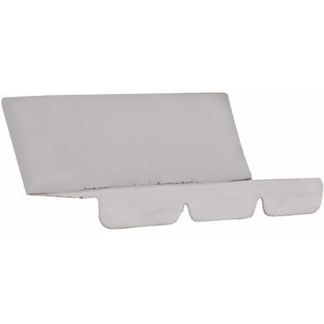 Funda de columpio para silla, impermeable, plegable, cojin, patio, jardin, patio, asiento al aire libre, repuesto (gris)