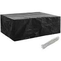 e6b393a0 Funda de muebles de jardín 8 ojales 242x162x100 cm