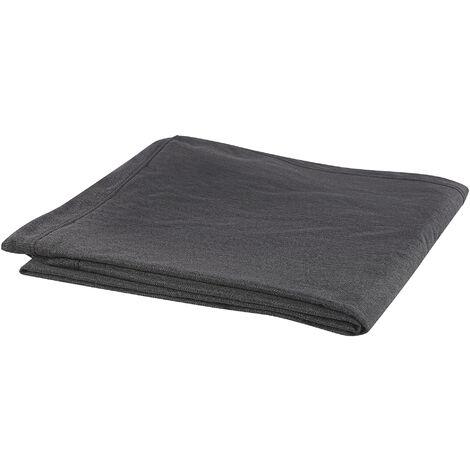 Funda de sofá 3 plazas negra GILJA