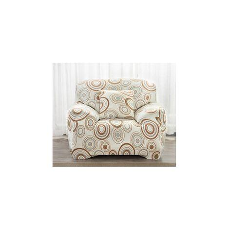 Funda de sofá Funda de sofá elástica Funda de asiento elástica Funda de sofá Silla Protector de muebles Decoración del hogar (estilo de 4 y 3 asientos)