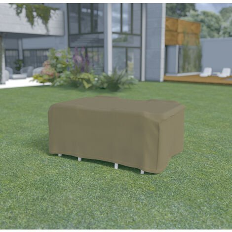 Funda mesa rectangular + 4 sillas de 2,25 x 1,45 x h.90m Nortene