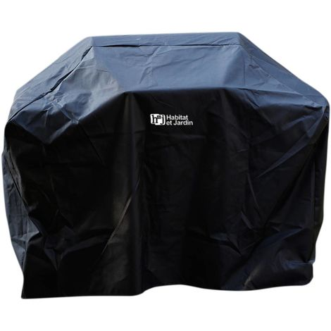 Funda para barbacoa Party 5 - 140 x 110 cm - Negro
