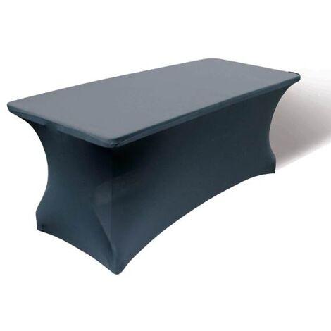 Funda para de mesa de jardín - Central Park - 200 cm x 80 cm - Negro
