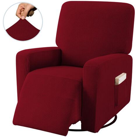 Funda para sillón reclinable Funda antideslizante para sofá de 1 plaza