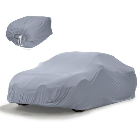 Funda protección coche auto 533 x 178 x 119cm color gris impermeable talla XL