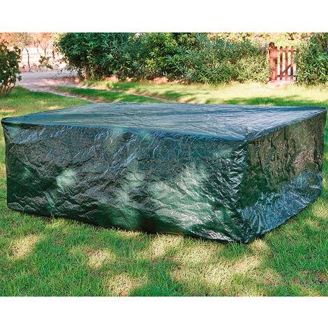 Funda protectora mesa rectangular jardín