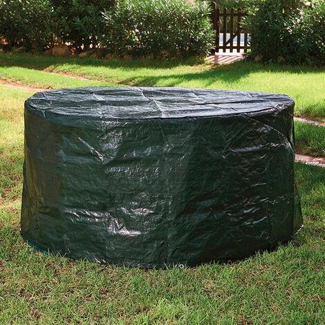 Funda protectora mesa redonda de jardín