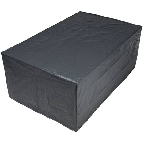 Funda protectora para muebles de jardín Nature 6030603, 90 x 325 x 205, Gris oscuro