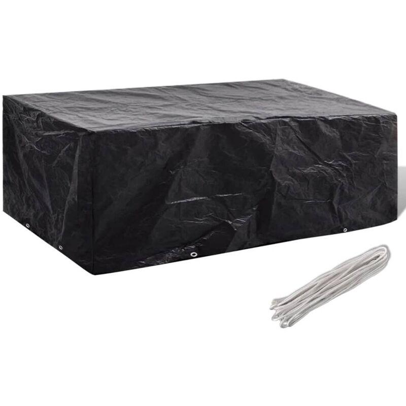 Funda protectora para muebles del jard n 200 x 160 x 70 cm for Fundas para muebles de jardin carrefour