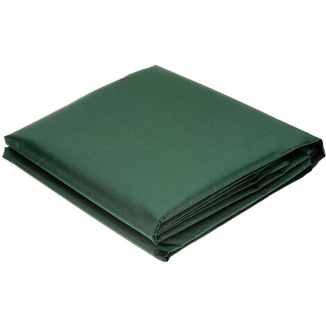 Funda Protectora para Muebles Sofá de Jardín Exterior Impermeable Verde 115x115x70cm