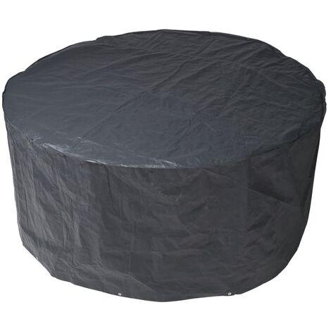 Funda protectora PE para los muebles del jardín, 90 x 205 cm, gris oscura, Nature 6030600