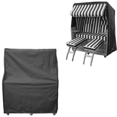 Funda protectora silla de playa jardín funda de lona 160x160x90CM tela cubierta protectora exterior patio jardín playa terraza lluvia