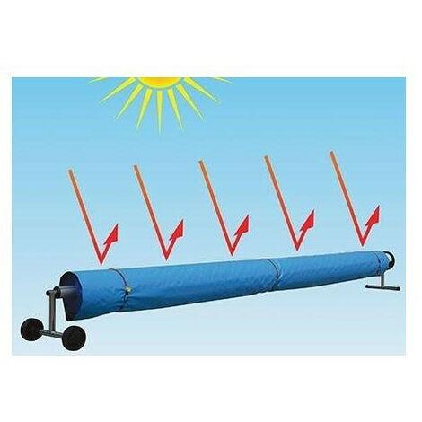 Funda reflectante para enrollador y manta térmica