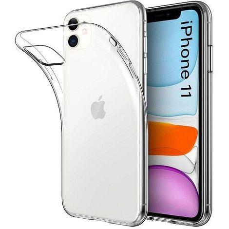 Funda silicona iphone 11 TPU de Alta Resistencia 0.33 mm Transparente