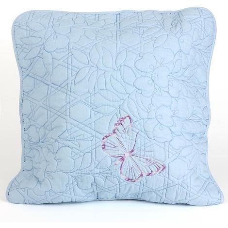 Fundas de sofá Jacquard Funda de almohada de algodón para cuatro estaciones