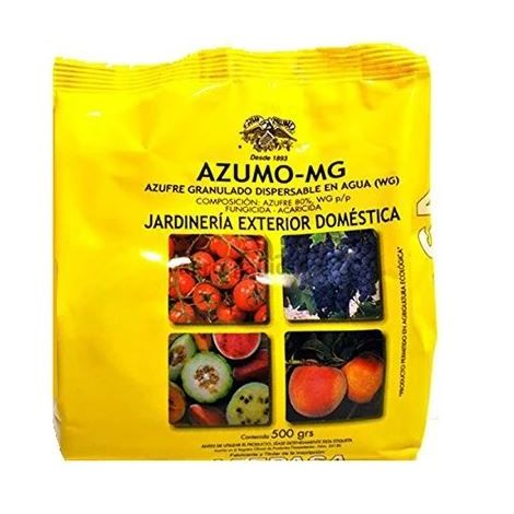 Fungicida acaricida AZUMO MG contra oidio, araña roja, ácaros y otros - 500 g