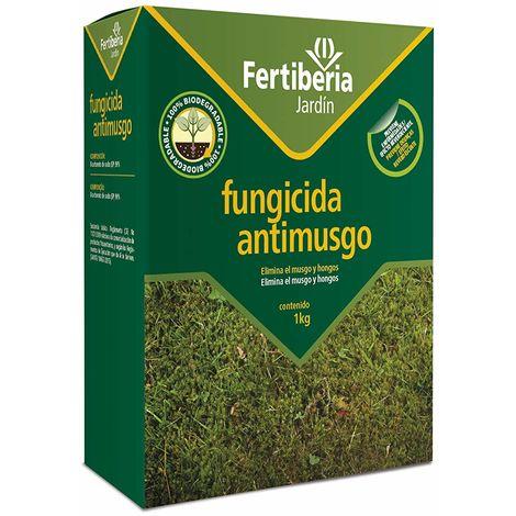 Fungicida antimusgo para césped Fertiberia 1 kg