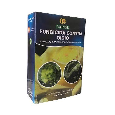 Fungicida Líquido Greendel Contra Oidio y Roya Cultivos Jardinería Exterior Doméstica (JED) 30ml