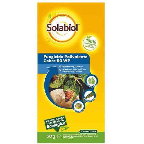 Fungicida polivalente cúprico SOLABIOL 50g