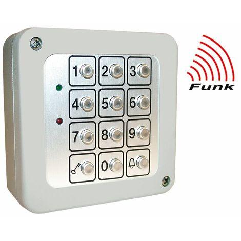 Funk-Code-Metalltastatur 868 MHz,AP RTS-CS-MT