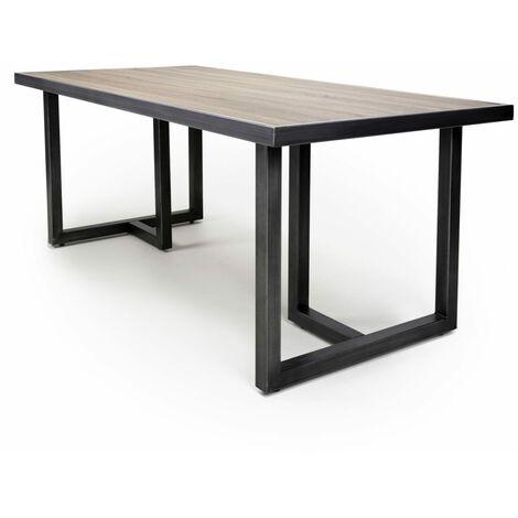 Furgus Medium Industrial Dining Table