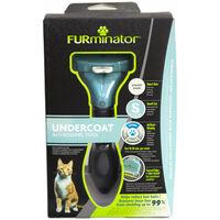 FURminator deShedding Pflegewerkzeug Kurzhaar L für Katzen