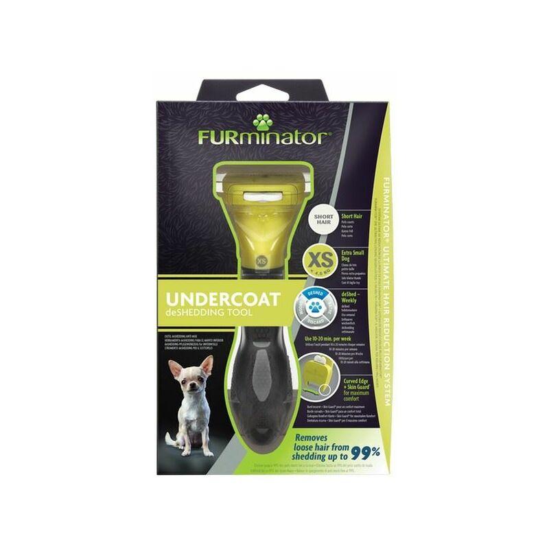 Image of Undercoat deShedding Tool for Extra Small Short Hair Dog x 1 (261460) - Furminator