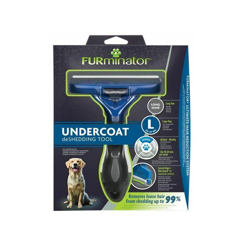Image of Undercoat deShedding Tool for Large Long Hair Dog x 1 (261453) - Furminator