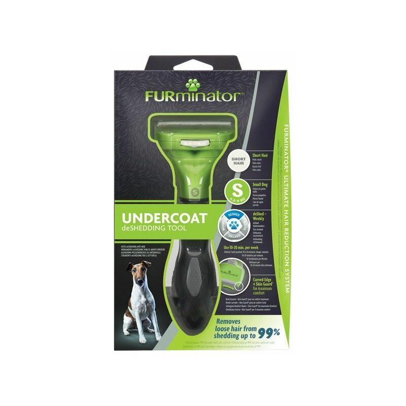 Image of Undercoat deShedding Tool for Small Short Hair Dog x 1 (261449) - Furminator
