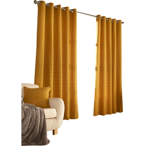 Furn Ellis Ringtop Eyelet Curtains