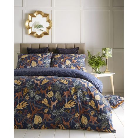 Furn Monkey Forest Duvet Cover Set