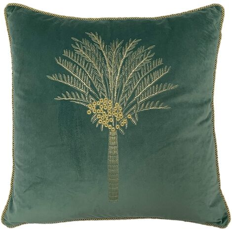 Furn Palm Tree Cushion Cover (One Size) (Mint)