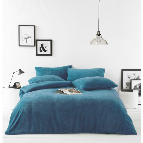 Furn Sherpa Fleece Fabric Duvet Cover Set