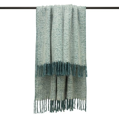 Furn Weaver Throw with Herringbone Design