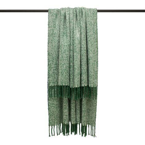 Furn Weaver Throw with Herringbone Design