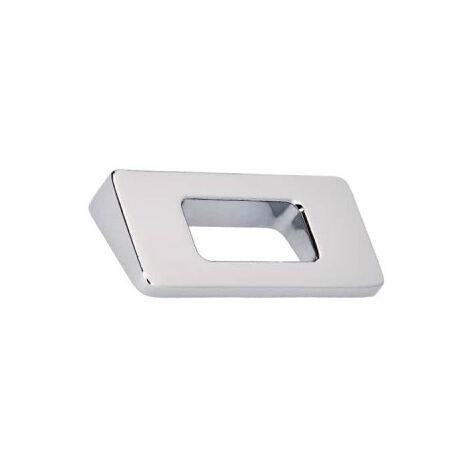 Furniture handle SIRO Zamak - 86 x 68 mm - High-gloss chrome