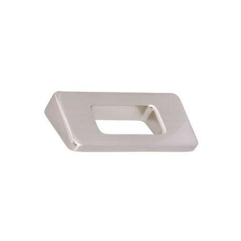 Furniture handle SIRO Zamak - 86 x 68 mm - Nickel satin finish
