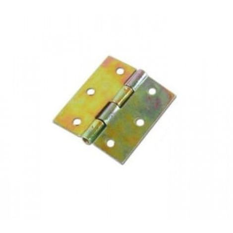Furniture hinge for furniture 45 x 42 mm gray 3 pc