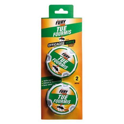 FURY - Anti-fourmis appât - lot de 2 - 10 g