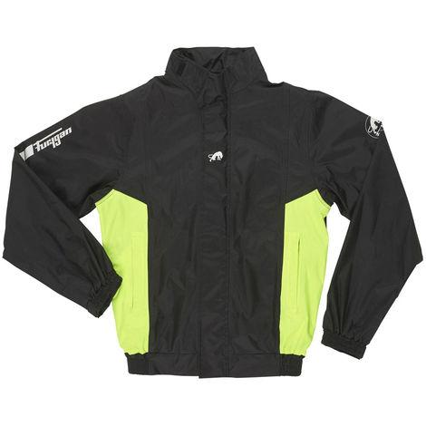 Furygan 6402-1031 - Rain jacket NEPTUNE - Size M - black/yellow fluo